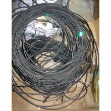 Оптический кабель Б/У для внешней прокладки (с металлическим тросом) в Ижевске, оптокабель БУ (Ижевск)