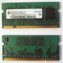 Модуль памяти для ноутбуков 256MB DDR2 SODIMM PC3200 (Ижевск)