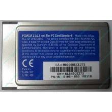 Сетевая карта 3COM Etherlink III 3C589D-TP (PCMCIA) без LAN кабеля (без хвоста) - Ижевск